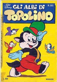 Cover Thumbnail for Albi di Topolino (Arnoldo Mondadori Editore, 1967 series) #1312