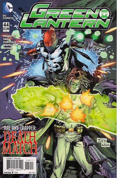 Cover for Green Lantern (DC, 2011 series) #44