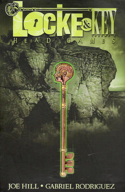 Cover for Locke & Key (IDW, 2010 series) #2 - Head Games