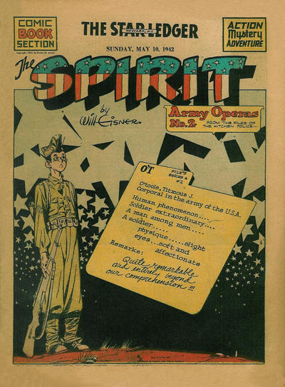 Cover for The Spirit (Register and Tribune Syndicate, 1940 series) #5/10/1942