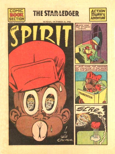 Cover for The Spirit (Register and Tribune Syndicate, 1940 series) #10/11/1942