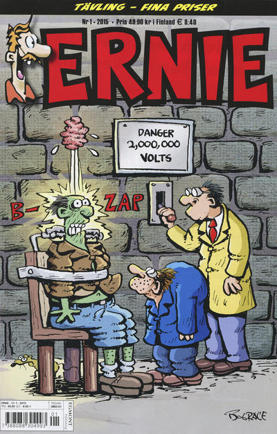 Cover for Ernie (Egmont, 2000 series) #1/2015
