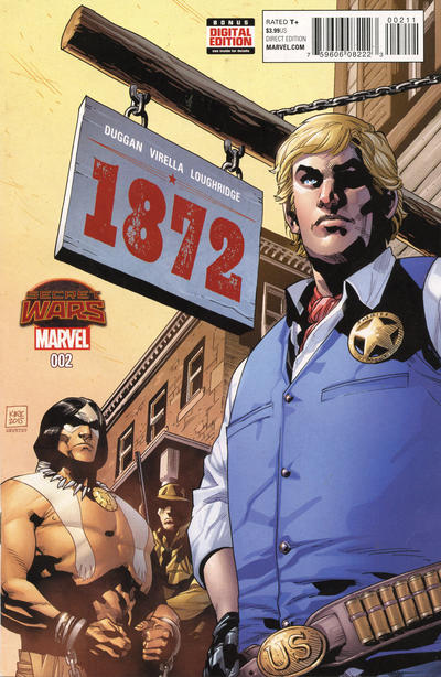 Cover for 1872 (Marvel, 2015 series) #2