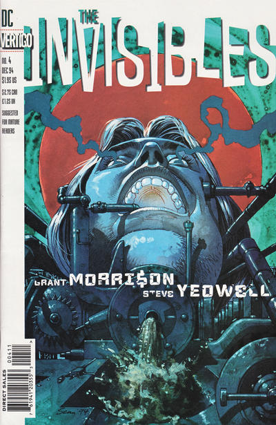 Cover for The Invisibles (DC, 1994 series) #4 [Newsstand]