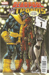 Cover Thumbnail for Deadpool vs Thanos (2015 series) #1 [Hastings Exclusive Todd Nauck Variant]