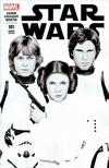 Cover for Star Wars (Marvel, 2015 series) #1 [ComicXposure Exclusive John Tyler Christopher Black and White Variant]