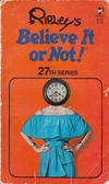 Cover for Ripley's Believe It or Not! (Pocket Books, 1941 series) #27