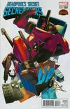 Cover for Deadpool's Secret Secret Wars (Marvel, 2015 series) #4 [Yusuke Kozaki Manga Variant]