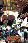 Cover for Secret Wars (Marvel, 2015 series) #2 [Retailer Incentive Simone Bianchi Connecting Variant]