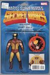 Cover for Secret Wars (Marvel, 2015 series) #2 [John Tyler Christopher Action Figure Variant (Wolverine)]