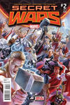Cover for Secret Wars (Marvel, 2015 series) #2 [Second Printing Variant - Alex Ross]