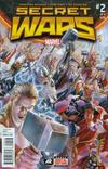 Cover for Secret Wars (Marvel, 2015 series) #2 [Third Printing Variant - Alex Ross]