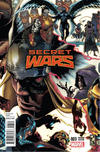 Cover for Secret Wars (Marvel, 2015 series) #3 [Incentive Simone Bianchi Connecting Variant]