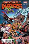 Cover for Secret Wars (Marvel, 2015 series) #3 [Incentive Bob McLeod Variant]