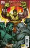 Cover for Secret Wars (Marvel, 2015 series) #3 [Midtown Comics Exclusive Dale Keown Planet Hulk Variant]