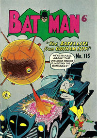 Cover Thumbnail for Batman (K. G. Murray, 1950 series) #115