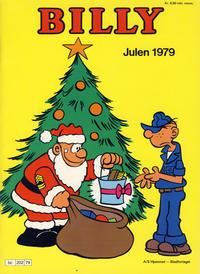 Cover Thumbnail for Billy julehefte (Hjemmet / Egmont, 1970 series) #1979