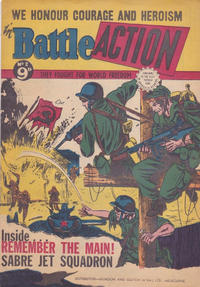 Cover Thumbnail for Battle Action (Horwitz, 1954 ? series) #2