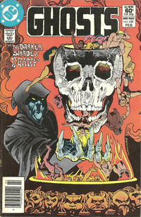 Cover Thumbnail for Ghosts (DC, 1971 series) #109 [Newsstand]