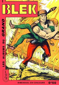 Cover Thumbnail for Blek (Editions Lug, 1963 series) #1