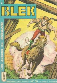 Cover Thumbnail for Blek (Editions Lug, 1963 series) #7