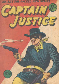 Cover Thumbnail for Captain Justice (Calvert, 1954 series) #20