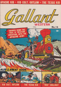 Cover Thumbnail for Gallant (Bell Features, 1951 ? series) #16