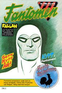Cover Thumbnail for Fantomen (Semic, 1963 series) #1/1981
