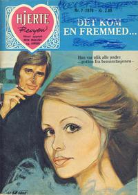 Cover Thumbnail for Hjerterevyen (Serieforlaget / Se-Bladene / Stabenfeldt, 1960 series) #7/1976