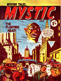 Cover Thumbnail for Mystic (L. Miller & Son, 1960 series) #24