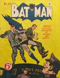Cover Thumbnail for Batman (K. G. Murray, 1950 series) #34