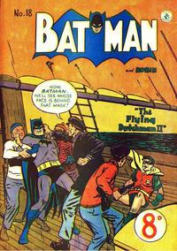 Cover Thumbnail for Batman (K. G. Murray, 1950 series) #18