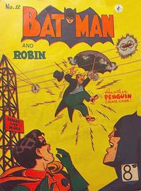 Cover Thumbnail for Batman (K. G. Murray, 1950 series) #12