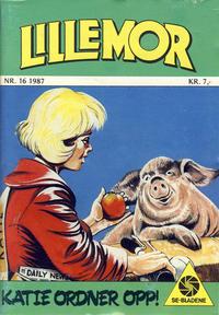 Cover Thumbnail for Lillemor (Serieforlaget / Se-Bladene / Stabenfeldt, 1969 series) #16/1987