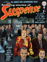 Cover Thumbnail for Amazing Stories of Suspense (Alan Class, 1963 series) #11