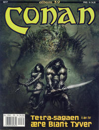Cover Thumbnail for Conan album (Bladkompaniet / Schibsted, 1992 series) #39 - Tetra-sagaen I av IV