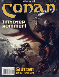 Cover Thumbnail for Conan album (Bladkompaniet / Schibsted, 1992 series) #41 - Imhotep kommer!