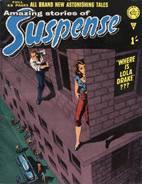 Cover Thumbnail for Amazing Stories of Suspense (Alan Class, 1963 series) #14