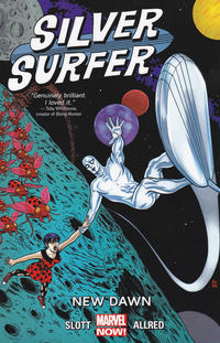 Cover Thumbnail for Silver Surfer (Marvel, 2014 series) #1 - New Dawn