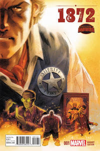 "Cover Thumbnail for 1872 (Marvel, 2015 series) #1 [Variant Edition - Evan ""Doc"" Shaner]"