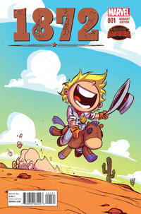 Cover Thumbnail for 1872 (Marvel, 2015 series) #1 [Variant Edition - Skottie Young]