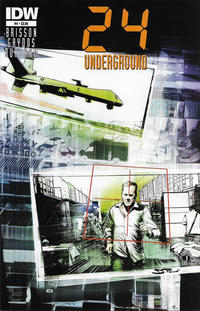 Cover Thumbnail for 24 (IDW, 2014 series) #4