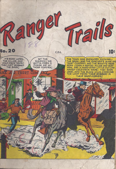 Cover for Ranger Trails (Bell Features, 1950 series) #20
