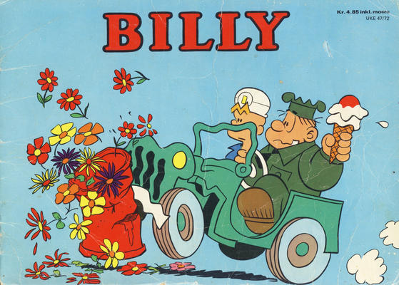 Cover for Billy julehefte (Hjemmet / Egmont, 1970 series) #1972