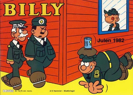 Cover for Billy julehefte (Hjemmet / Egmont, 1970 series) #1982