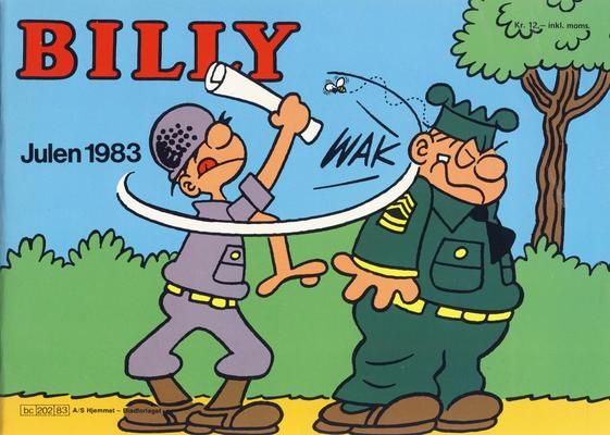Cover for Billy julehefte (Hjemmet / Egmont, 1970 series) #1983