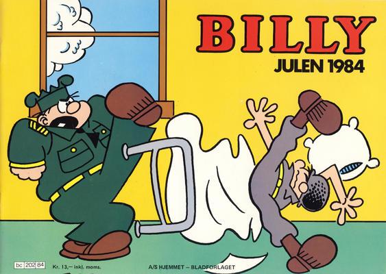 Cover for Billy julehefte (Hjemmet / Egmont, 1970 series) #1984
