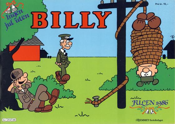 Cover for Billy julehefte (Hjemmet / Egmont, 1970 series) #1986