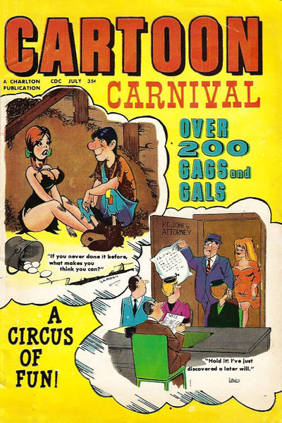 Cover for Cartoon Carnival (Charlton, 1962 series) #28
