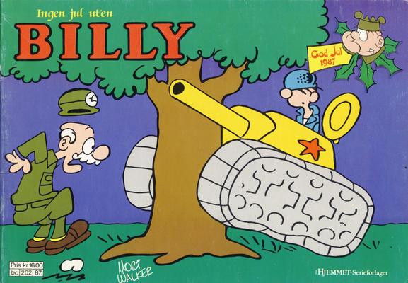 Cover for Billy julehefte (Hjemmet / Egmont, 1970 series) #1987